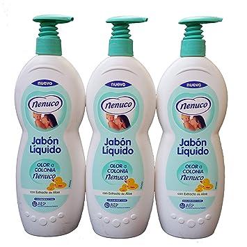 3 Nenuco Liquid Soap with Pump 21.9 oz./650 ml