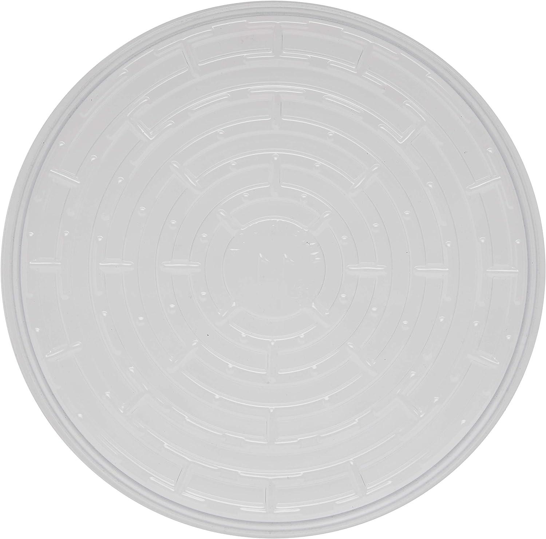 Gro Pro Clear Premium Plastic Saucer 10 Inch