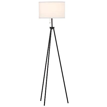 Rivet minimalist tripod floor lamp with bulb 583 x 15 x 15 rivet minimalist tripod floor lamp with bulb 583quot x 15quot aloadofball Gallery