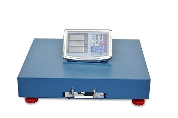 Bascula Industrial de Plataforma 45x55Cm Inalámbrica Balanza 300kg: Amazon.es: Bricolaje y herramientas