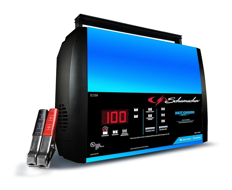 Schumacher SC1304 15A 6V/12V Automatic Battery Charger