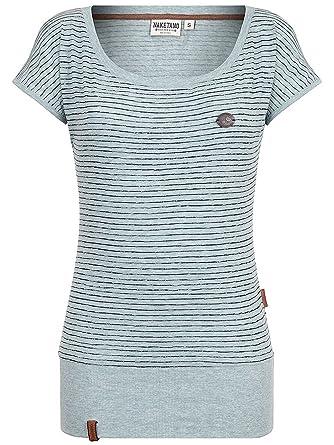 Naketano Damen T-Shirt Wolle Dizzy T-Shirt  Amazon.de  Bekleidung a488e0ac73