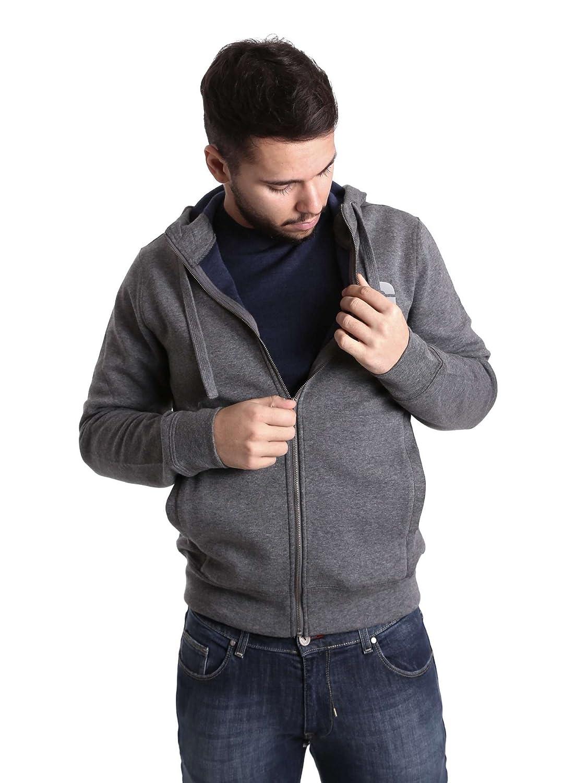 Gas 552280 Sweatshirt Man Grau S