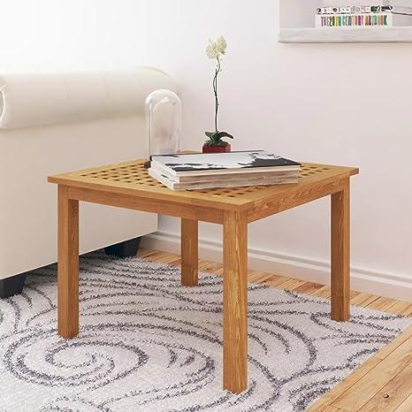 Luckyfu Questo Tavolinetto da Salotto Legno Massello di Noce ...