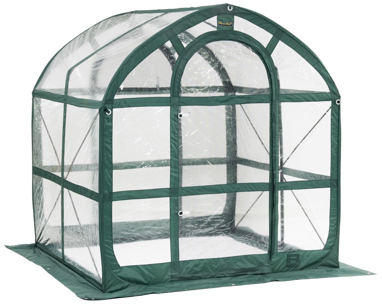 Flower House FHSP300CL SpringHouse Greenhouse, Clear by Flower House