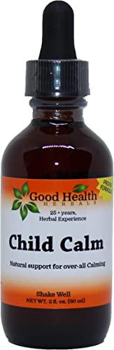 Good Health Herbals – Child Calm – Herbal Extract 2 oz. 2 oz.