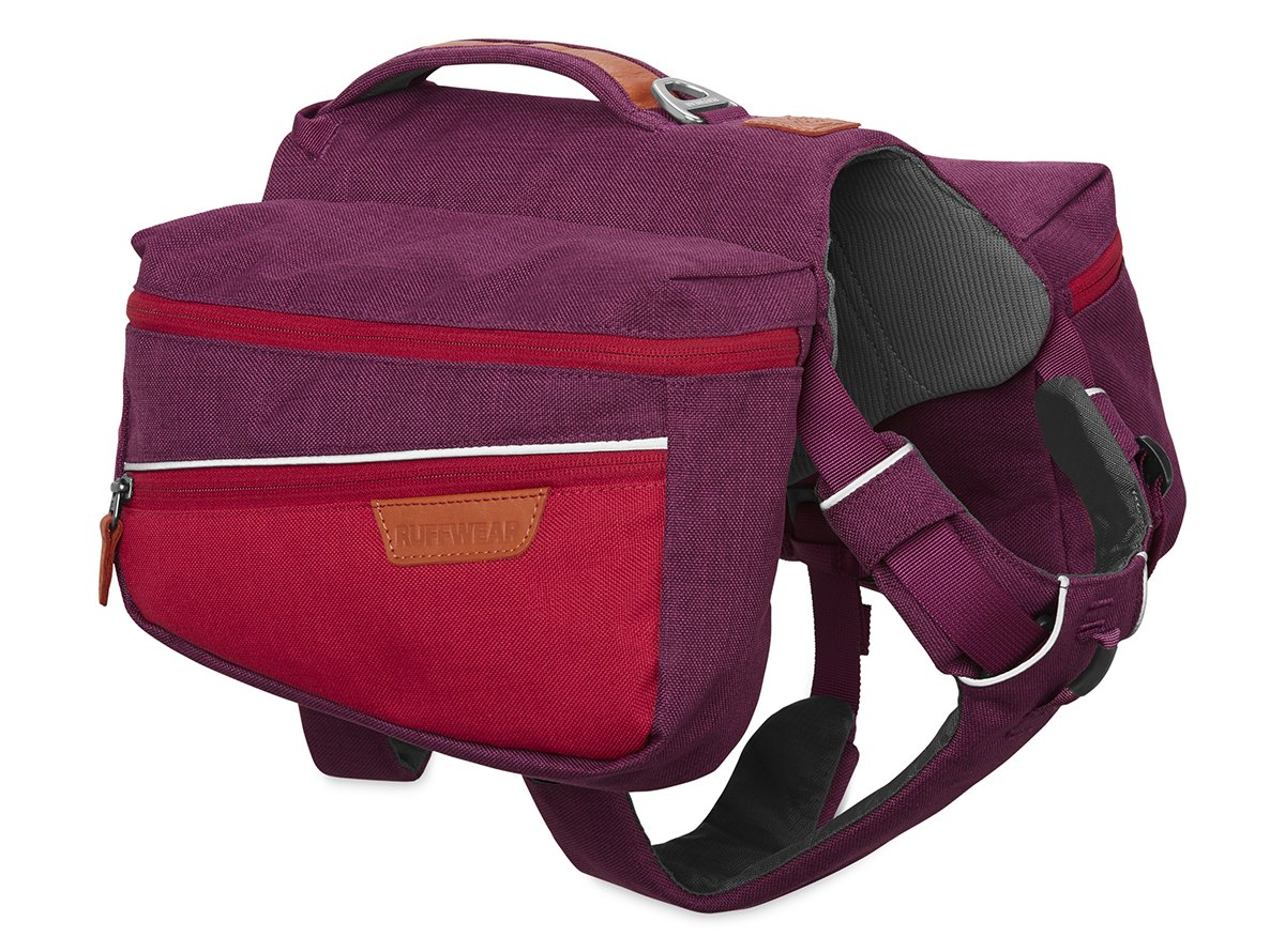 RUFFWEAR Dog Pack for Everyday Use, Large to Very Large Breeds, Adjustable Fit, Size: Large/X-Large, Larkspur Purple, Commuter Pack, 5050-580LL1 by RUFFWEAR
