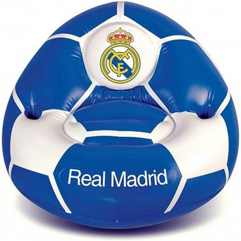 Real Madrid CF Official - Sofá hinchable (Talla Única) (Azul ...