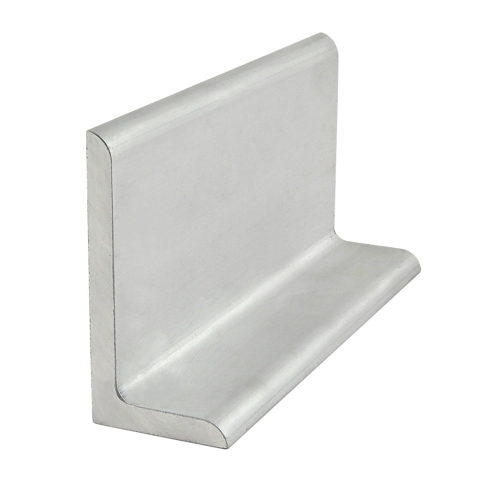 80/20 Inc., 8213, Angle Profile, 1'' x 2'' x .188'' Angled Shape x 48'' Long Mill-Finish