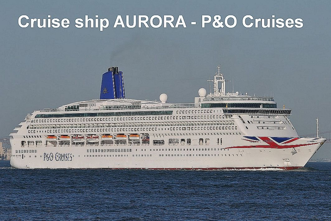 Crucero barco imán para nevera - Aurora - P y o cruceros: Amazon ...