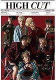 HIGH CUT 199号/表紙:IKON【5点構成】本册+記事翻訳+ IKONポスター+ IKONはがき2枚/韓国版/ HIGHCUT 199号/アイコン