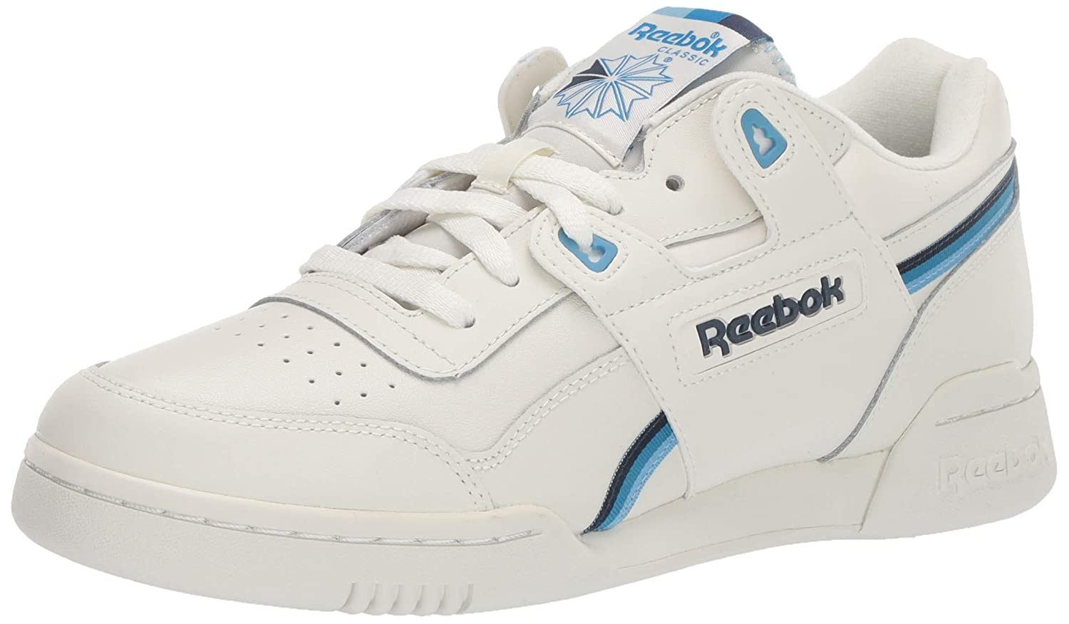 Chalk Collegiate Navy Cyan 44 EU Reebok - Workout Plus Homme