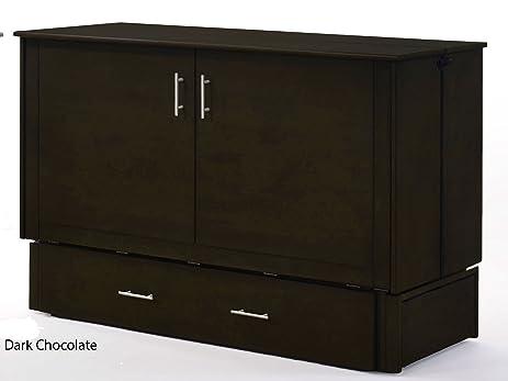 Amazon.com: Night & Day Furniture Sagebrush Murphy Cabinet Bed ...