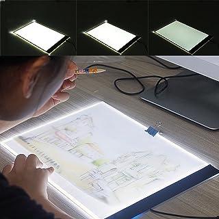 Generic Board Tattoo Light OX Pad blocco da disegno A4LED Slim da tavolo Ing TR box Pad Board Pad T disegno Trac Art Craft lampada