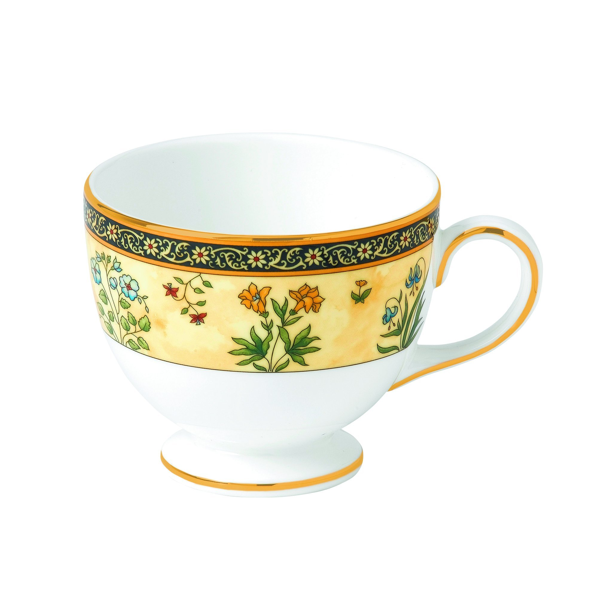 Wedgwood India Teacup, 5 oz, Multicolor