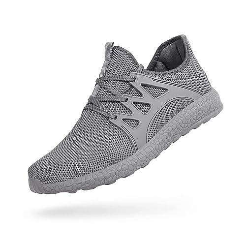 QANSI Men's Non Slip Sneakers