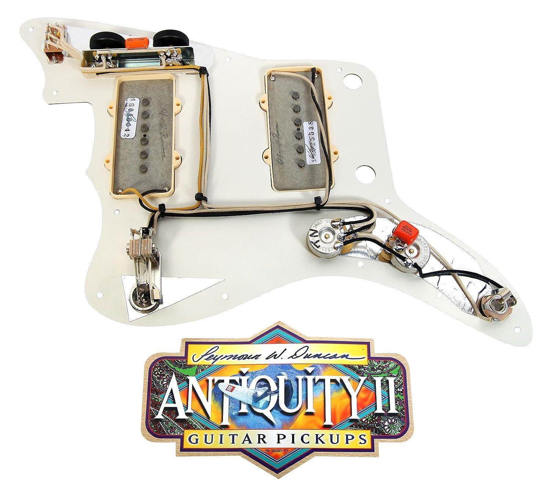 920d Custom Shop Fender Jazzmaster golpeador Duncan antigüedad II PA/AW: Amazon.es: Instrumentos musicales
