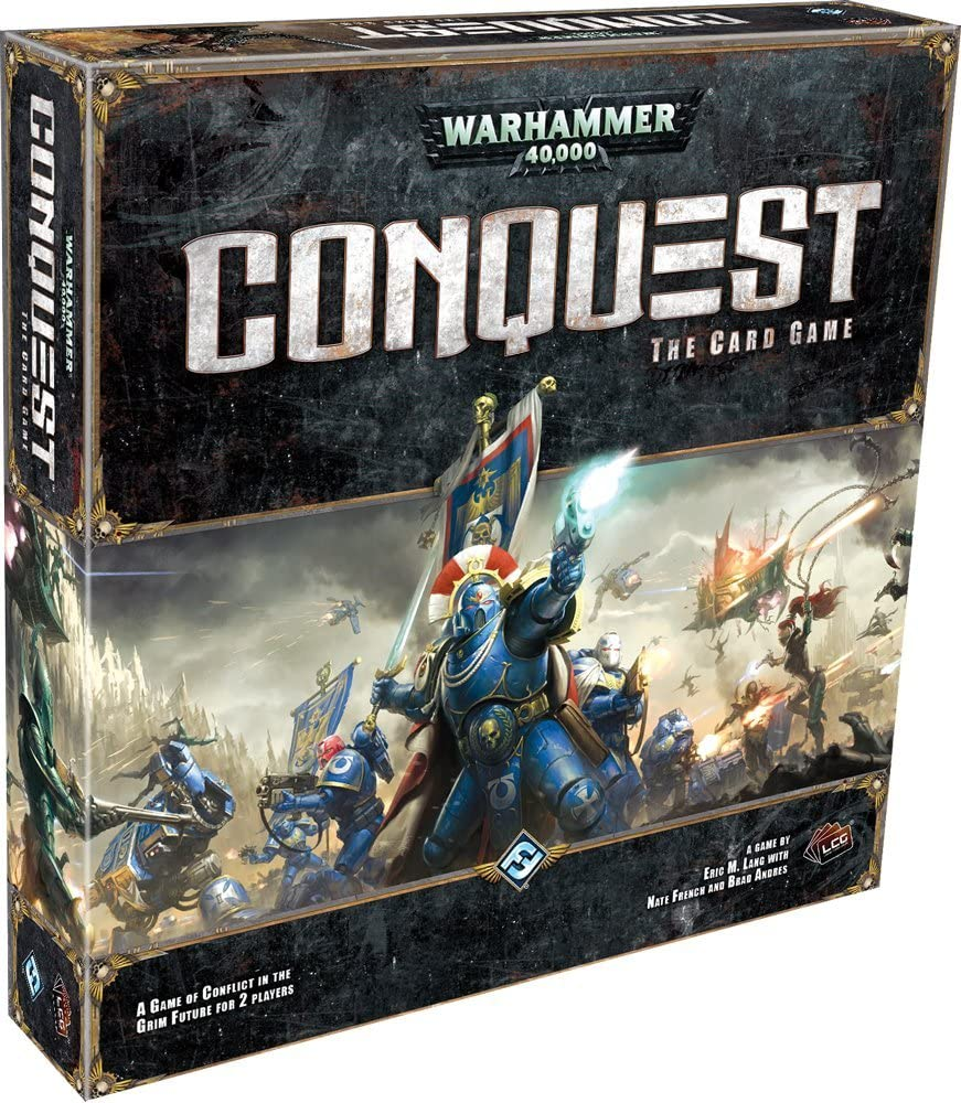Amazon.com: Fantasy Flight Games Warhammer 40K Conquest: The Card Game:  Toys & Games