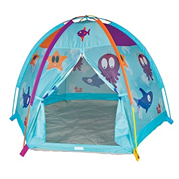 Pacific Play Tents Kids Ocean Adventures Dome Tent for Indoor / Outdoor Fun - 66u0026quot;  sc 1 st  Amazon.com & Amazon.com: Pacific Play Tents Kids Ocean Adventures Dome Tent for ...