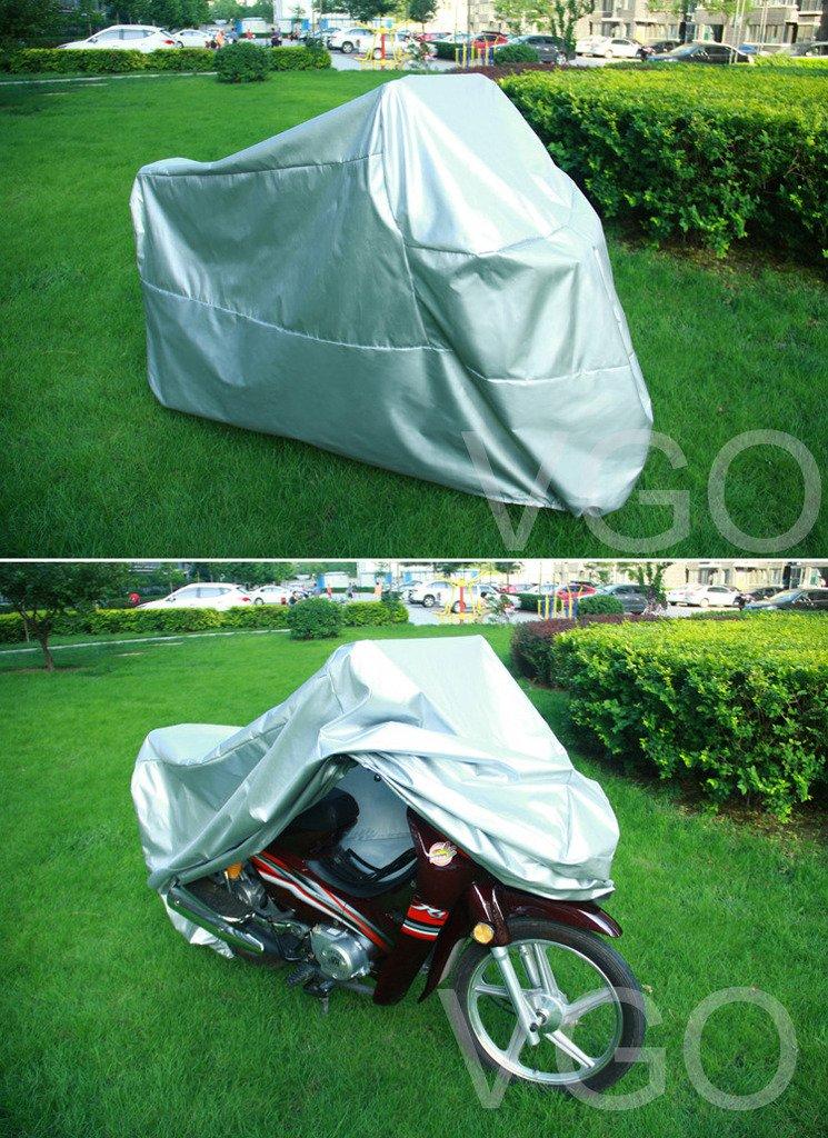 バイクカバー SUZUKI m 109 R m109 m109R 109R UV 防塵 XL シルバー   B019YD1LB0