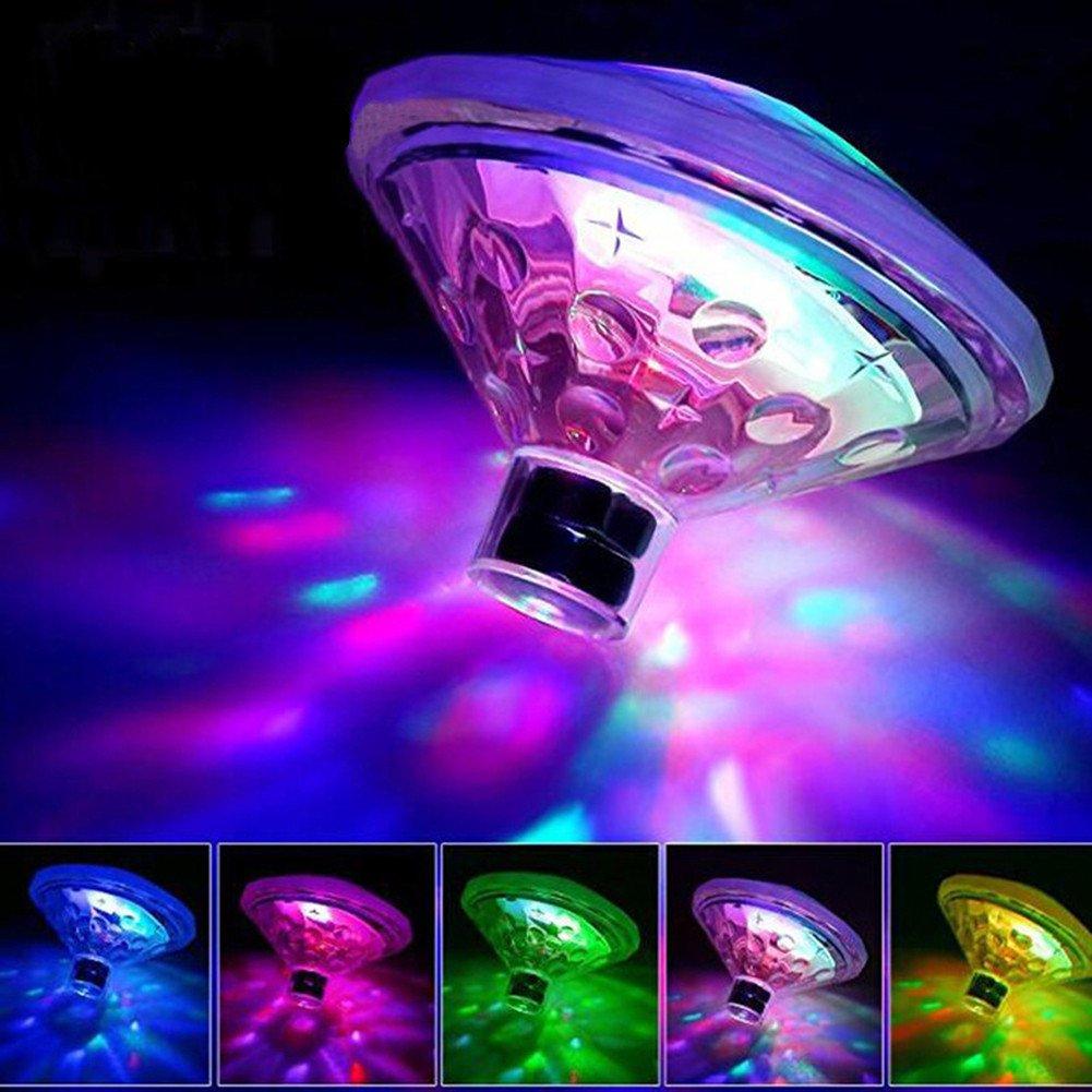 SHZONS Swimming Pool Light, 3pcs Floating Water Drifting Lamp LED Underwater Pond Swimming Pool Lamp