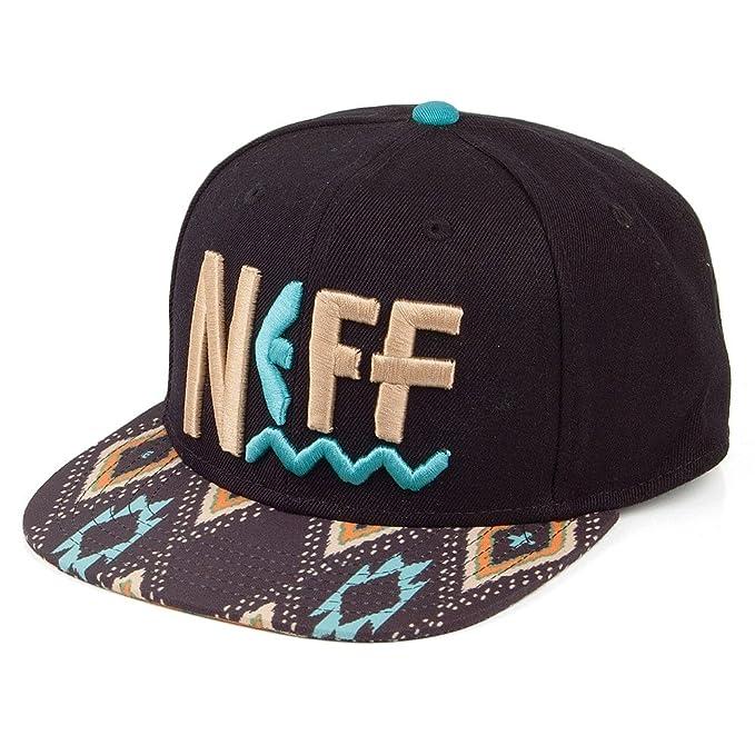 Neff Tribal Beach Snapback - Gorra de béisbol, color negro Negro negro Talla única: Amazon.es: Ropa y accesorios