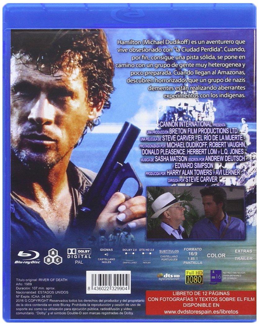 Amazon.com: El Rio de la Muerte: Robert Vaughn, Donald ...