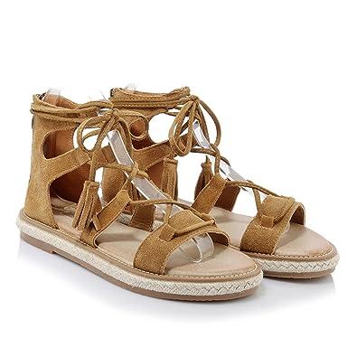 Sandalen Damen, Böhmischer Zehentrenner Thong Hausschuhe Pantoletten Schuhe Sommer Herbst Sandalen Gracosy
