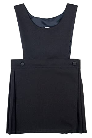 Girls Skirts Kids Pinafore Skirt Dungaree /& Crop Top All In One Playsuit 7-13 Yr