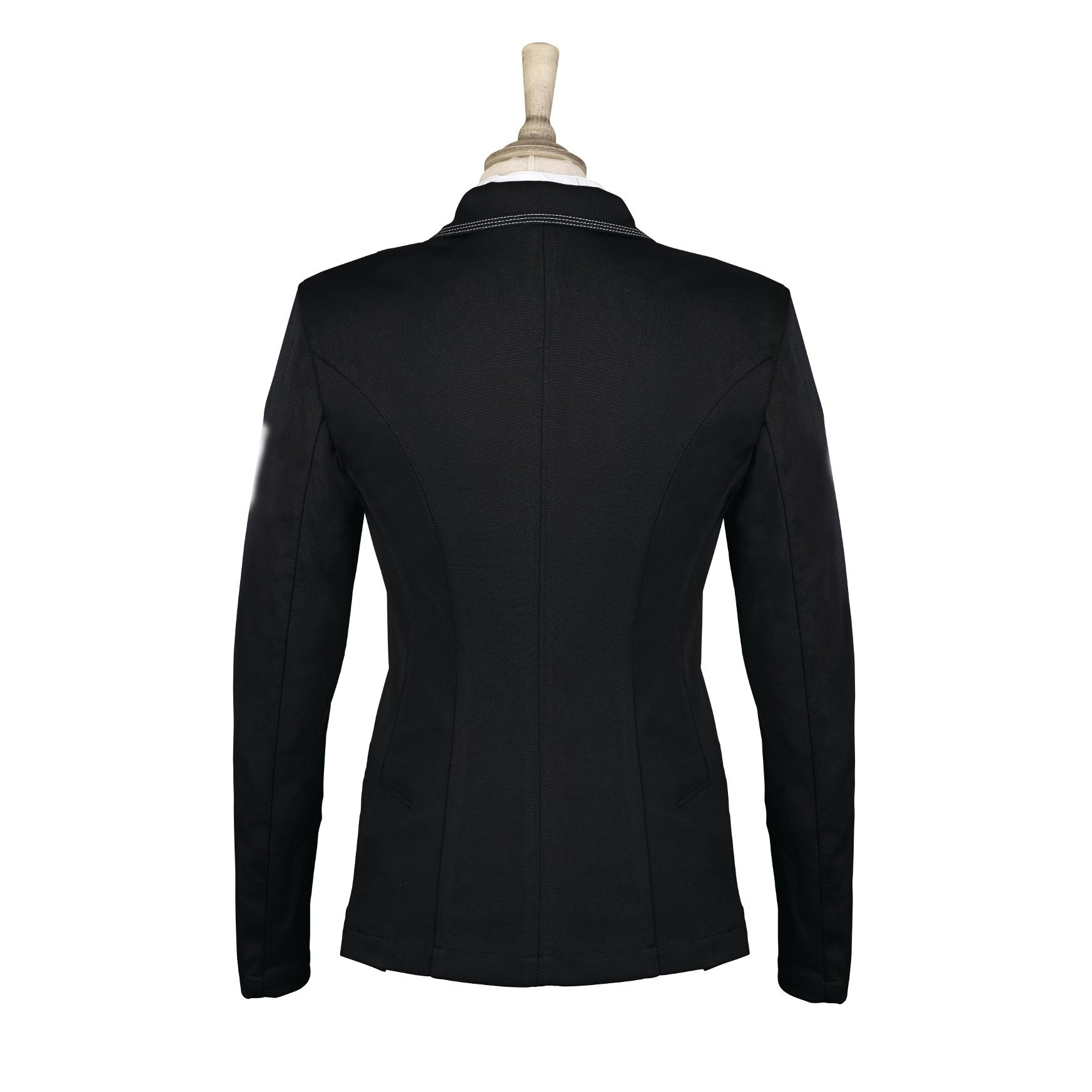 Caldene Womens/Ladies Cadence Stretch Competition Jacket (38 Inch) (Black)