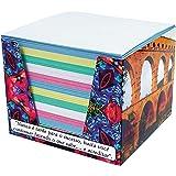 Bloco Para Recado Lembrete Colorido 700Folhas - Caixa com 01 Unidade Tamoio, Multicor