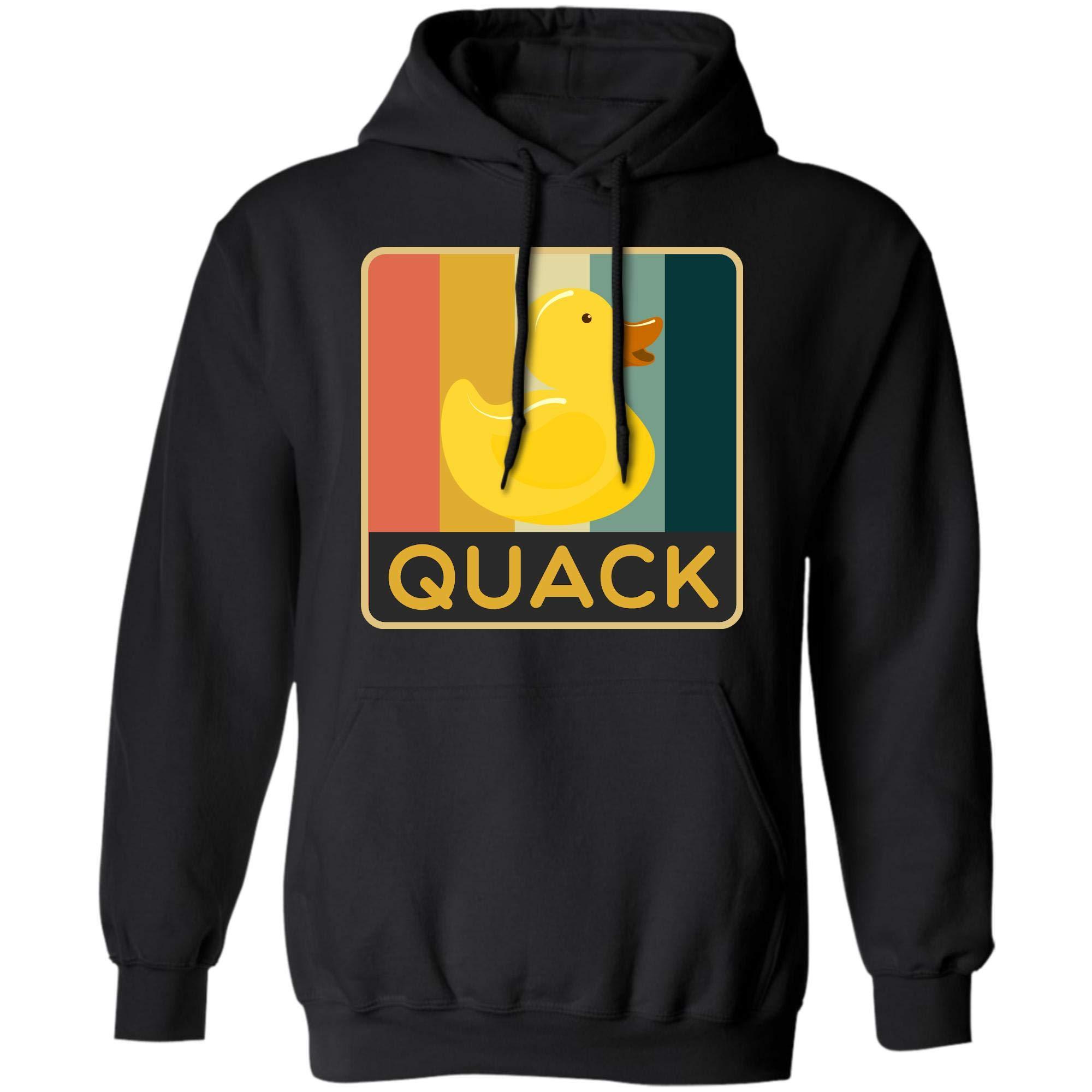 Vintage Rubber Duck Retro Quack Design Tshirt
