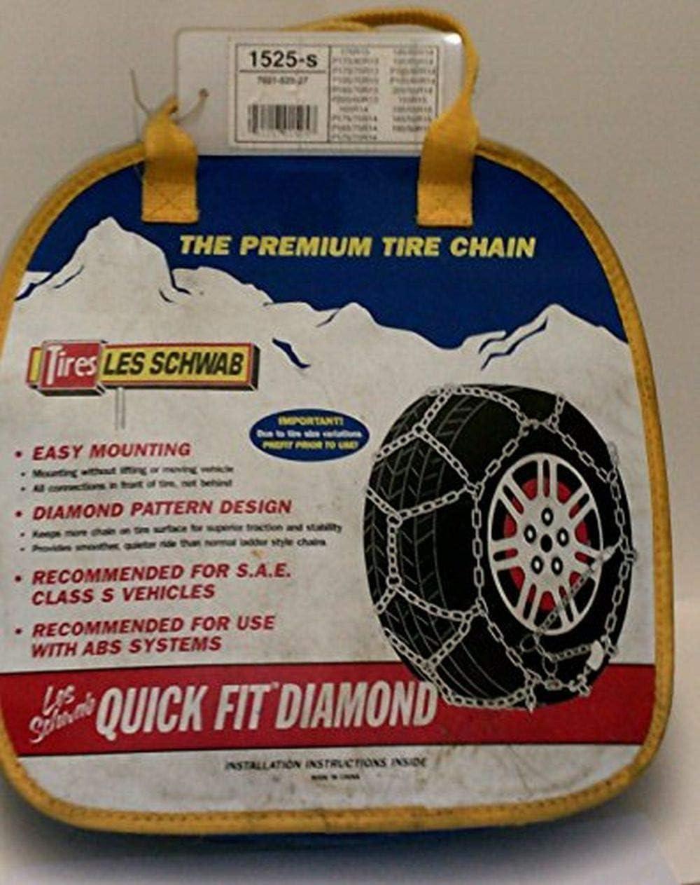 Laclede Chain 7021-525-07 Alpine Premier Passenger Car Tire Chains