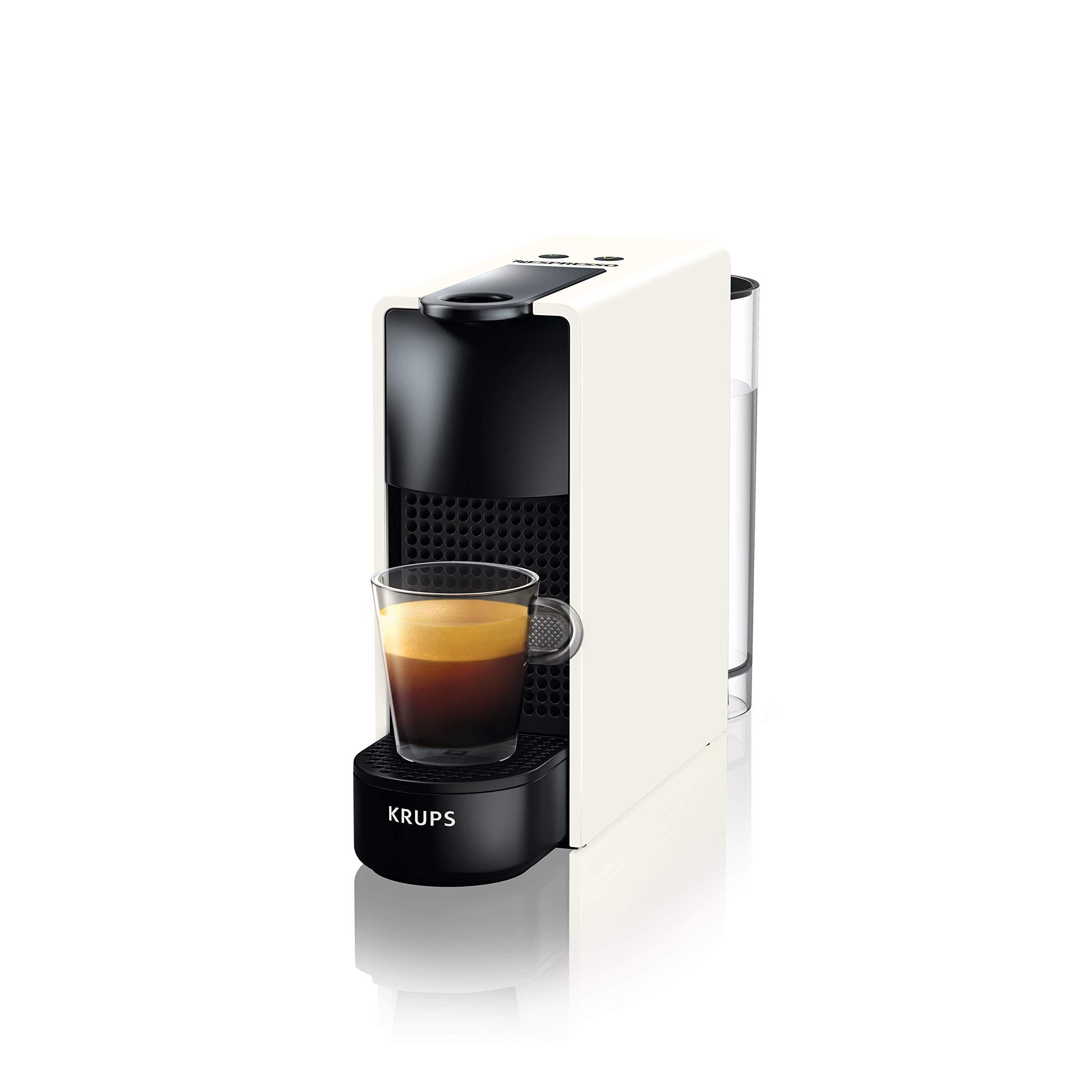 Krups Nespresso Essenza Mini Cafetera, 1450 W, 0.6 litros, Blanco product image