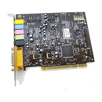 CREATIVE SB LIVE CT4780 DRIVER FOR PC