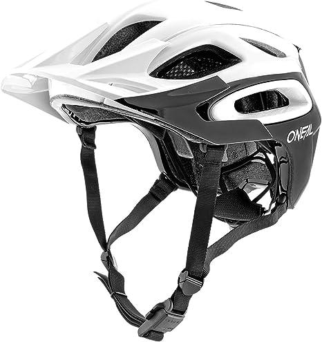 Oneal Orbiter II Solid Casco Bicicleta, Blanco, M: Amazon.es ...