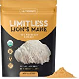Organic Lions Mane Extract Powder – Nootropic Mushroom Supplement Improves Focus & Memory, Immune & Nervous Systems – Concent