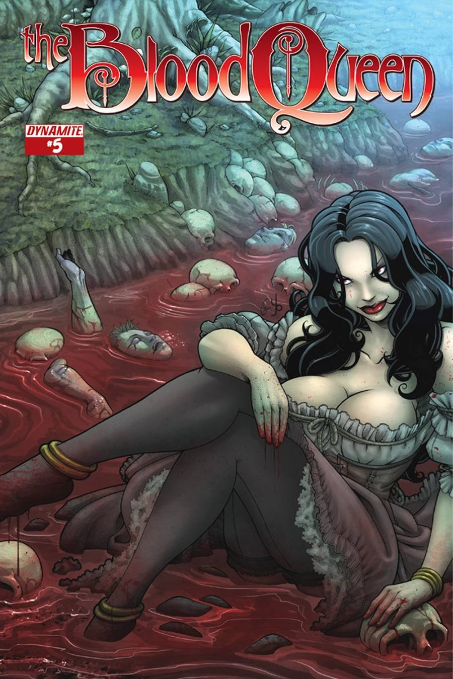 BLOOD QUEEN #5 (OF 6) VARIANT COVER B ebook