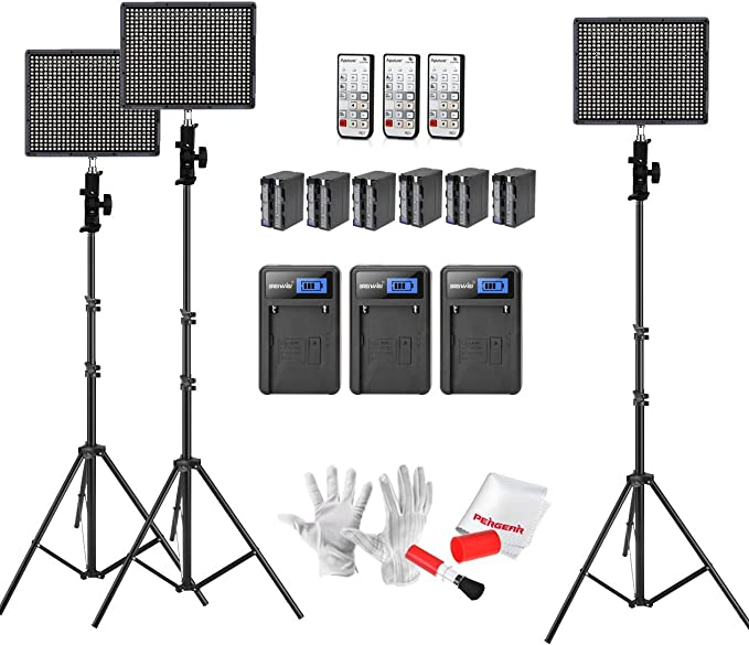 Aputure Amaran Hr672 Led Videoleuchte Set Hoch Cri 95 Kamera