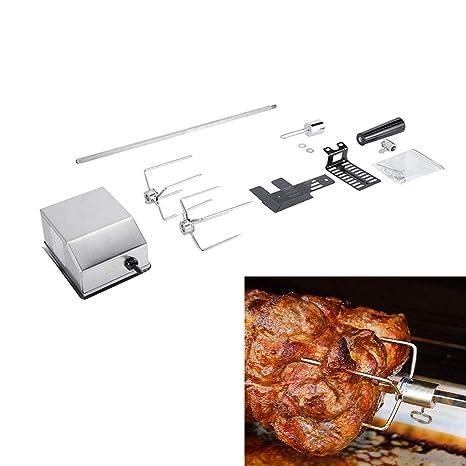 Kit del Rotisserie del BBQ, kit de la parrilla del gas ...