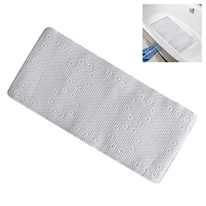 Bath Non Slip Bath Tub Mat Anti Slip Extra Long Large Shower Square Mat Pad Non Skid To Be Distributed All Over The World
