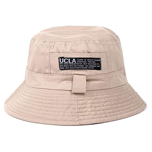2fd61a3d633 Image Unavailable. Image not available for. Color  Summer Sunscreen Men  Women Bucket Hat ...