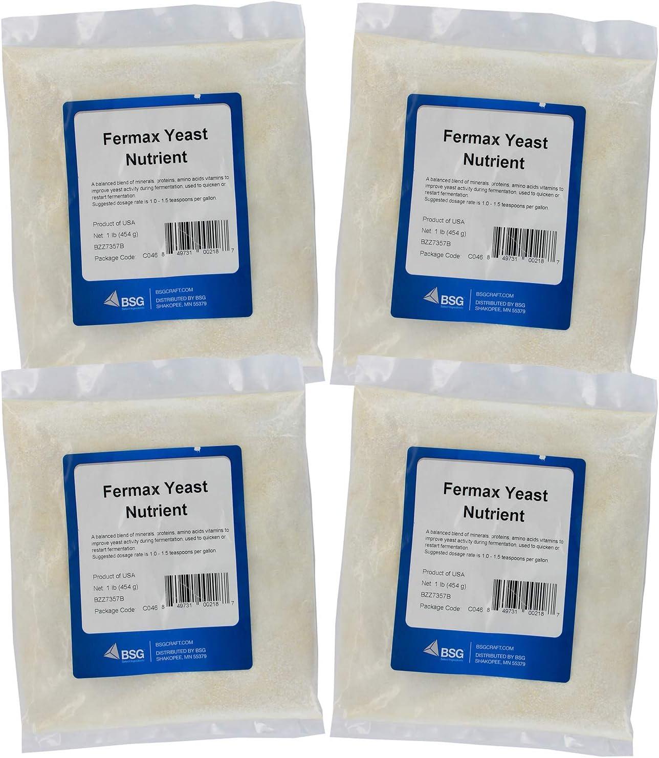 F ur Pa k Fermax Yeast Nutrient 1lb Home Brewing Starter Sets ...