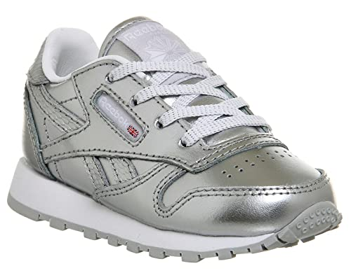 2612da0b35f Reebok Unisex Babies  Classic Leather Metallic Trainers  Amazon.co.uk  Shoes    Bags