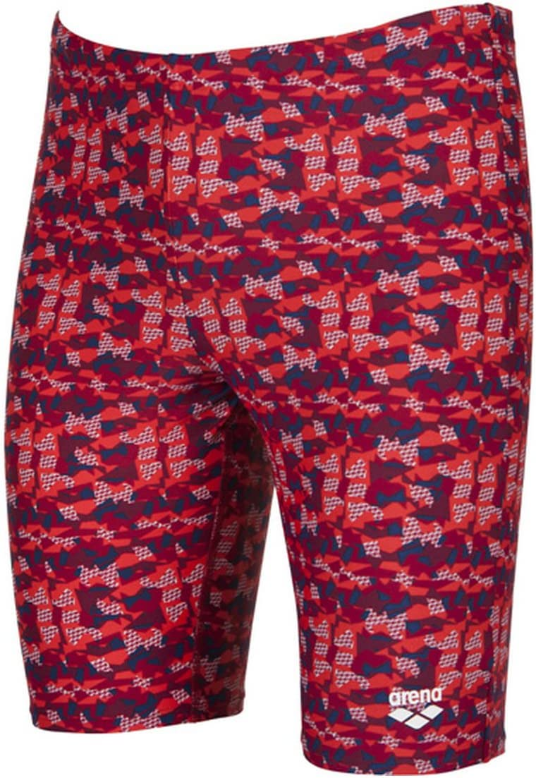 45 ,30 Arena Mens Network Jammer,Red//Multi