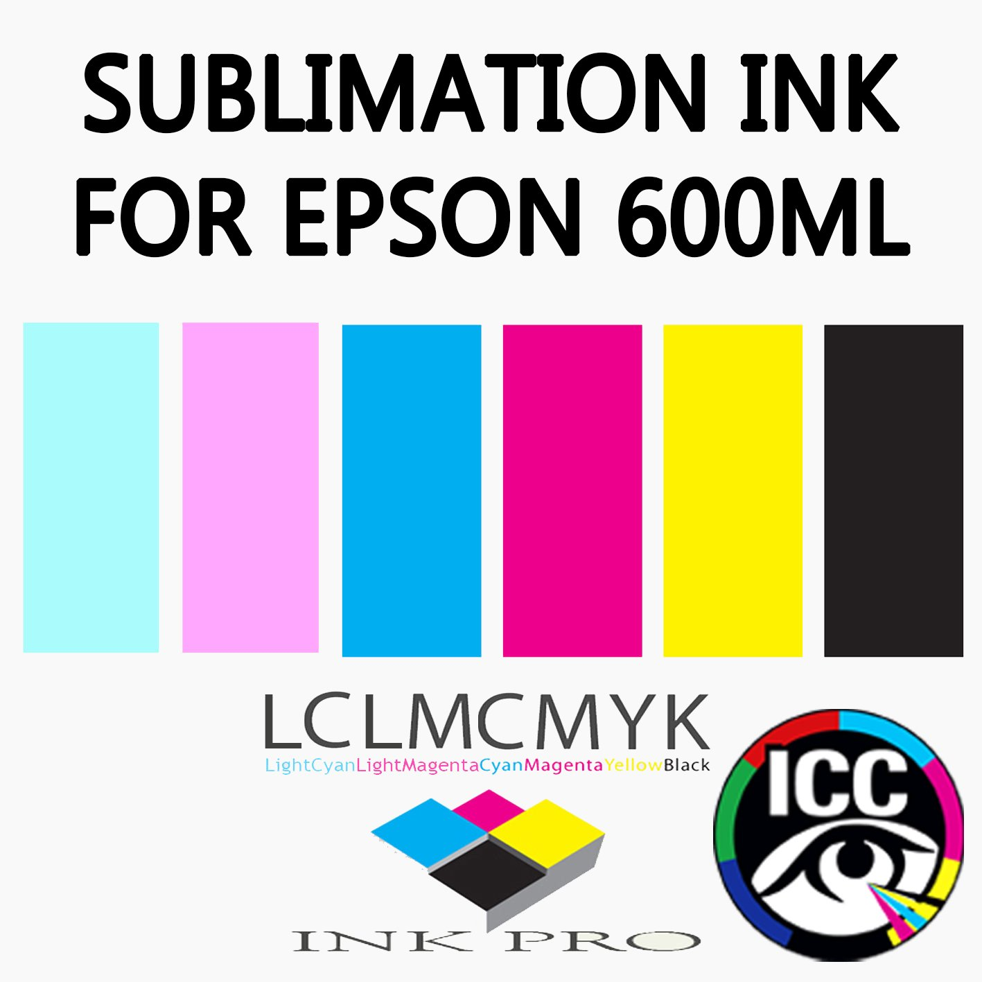 INK-PRO SUBLIMATION INK FOR EPSON 6 COLOUR PRINTERS: Amazon co uk