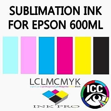 ink-pro tinta de sublimación para Epson Impresoras de color ...