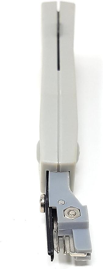 Gobesty Outil de poin/çonnage de type Krone pour RJ45 RJ11 Cat5e Cat6 R/éseau Ethernet LAN BT Terminal t/él/éphonique Noir