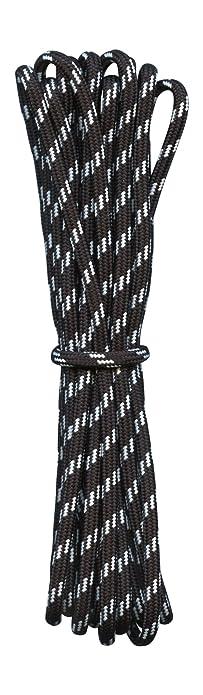 bee9cbcc2e903 Amazon.com: Hiking Boot Laces- Black with White flecks - 3/16 ...