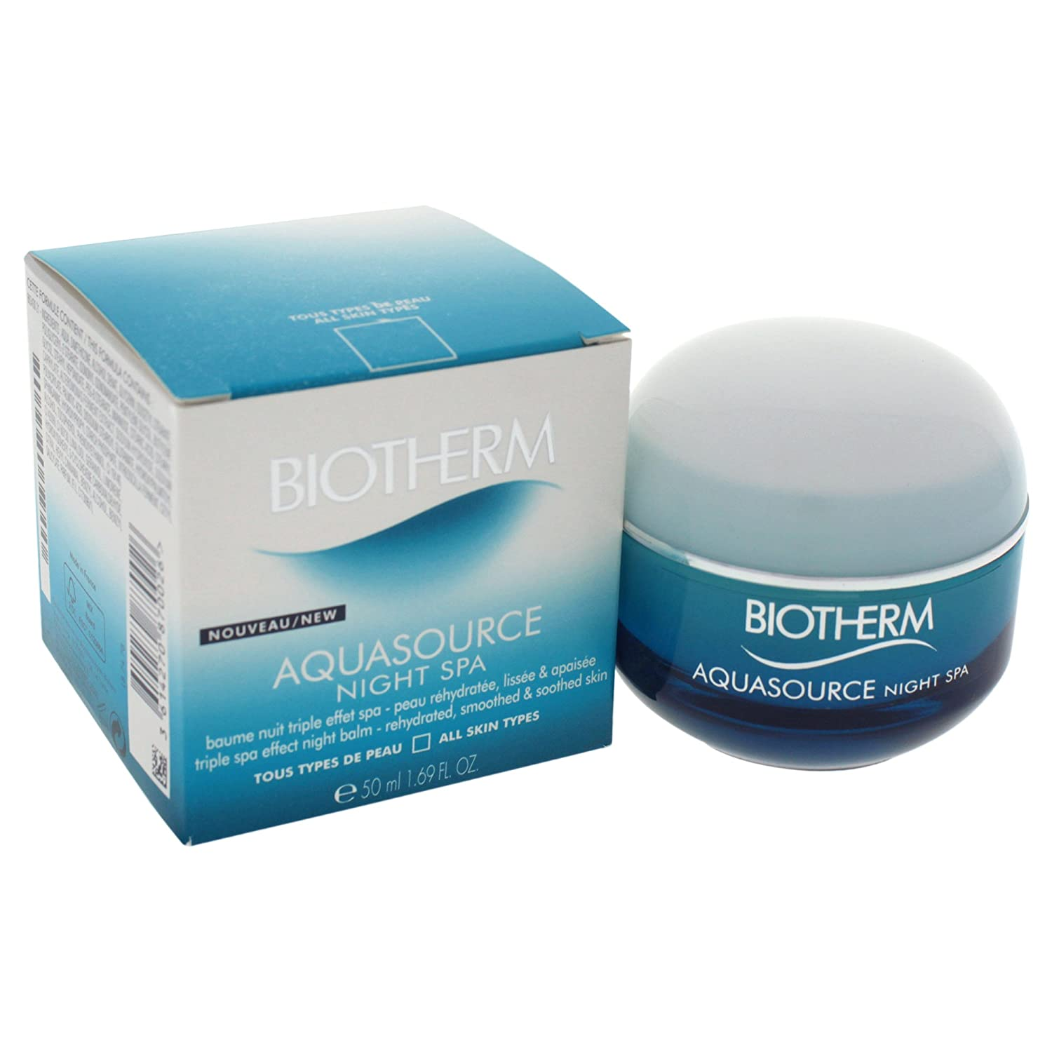 Biotherm Aquasource Spa Triple Effect Night Balm, 1.69 Ounce Mainspring America Inc. DBA Direct Cosmetics 3614270870026 L8747800_-50